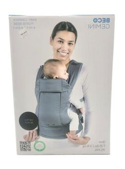 New Beco Gemini 4-in-1 Baby Carrier In Metro Black