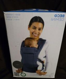 New Beco Gemini Metro Gray Baby Carrier Open Box