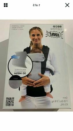 New Other BECO Gemini Baby Carrier Cool 4-IN-1 Mesh/Navy 7-3