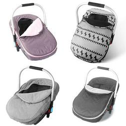 Newborn Baby Basket Car Seat Cover Infant Carrier Winter Col