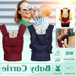 Newborn Baby Carrier Breathable Ergonomic Adjustable Wrap Sl