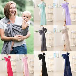 Newborn Baby Kids Carrier Ring Holder Sling Wrap Outdoor Tra