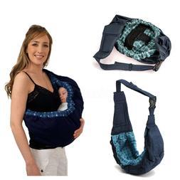 Newborn Baby Sling Carrier Infant Ring Wrap Soft Nursing Pou