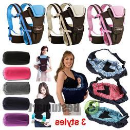 Newborn Baby Sling Carrier Ring Wrap Adjustable Soft Nursing