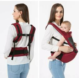 Newborn Toddler Baby Carrier Breathable Ergonomic Adjustable