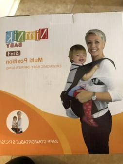 Nimnik Baby Carrier Multi-Position 4 In 1 NIB