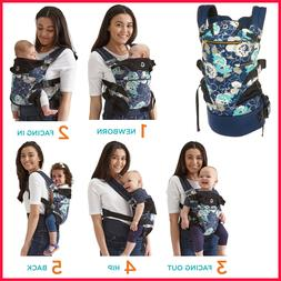 Contours Journey 5-in-1 Baby Carrier,Twilight, Newborn to T