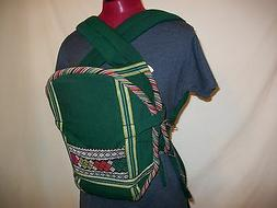 ***NWOT Baby Carrier Front Pack 100% Cotton Multi-Colored***