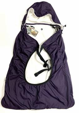 NWT BeBear Bebamour Baby Carrier Purple Fleece Lined Hip Sea