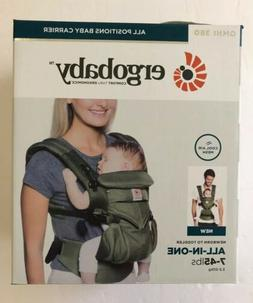 Ergobaby Omni 360 All In One Cool Air Mesh Baby Carrier Khak