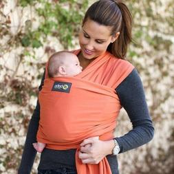 Orange Boba wrap baby carrier NWOT 7-35 lb