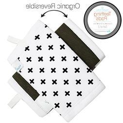 Kaydee Baby Organic Cotton Reversible Teething Chew Pads w/O