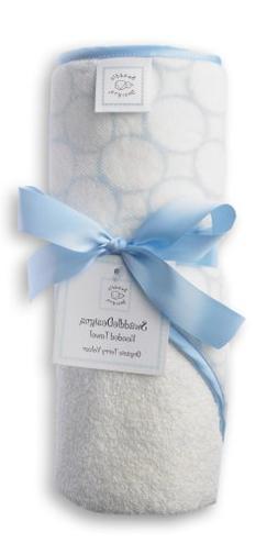SwaddleDesigns Organic Hooded Towel - Blue