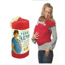 Original Mo-by Wrap Infant Baby Carrier BREASTFEED Sling Top