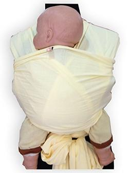 Palm and Pond Wrap Sling Baby Carrier - Cream
