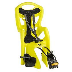 Bellelli Pepe Seatpost Mounted Baby Carrier, Yellow