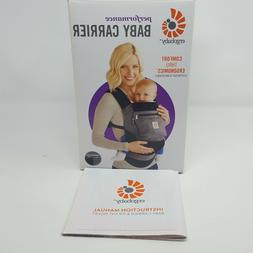 Ergobaby Performance Baby Carrier Charcoal and Black Lightly