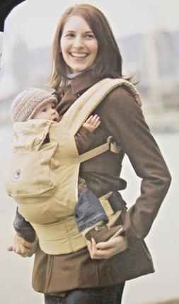 Ergobaby Performance Baby Carrier Charcoal/Black Front/Back/