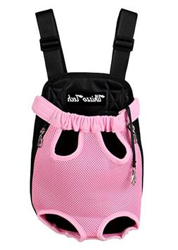 Whizzotech Pet Carrier Backpack, Adjustable Pet Front Cat Do