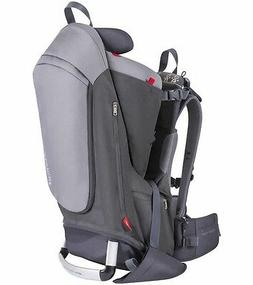 Phil & Teds Escape Child Backpack Carrier Charcoal / Grey