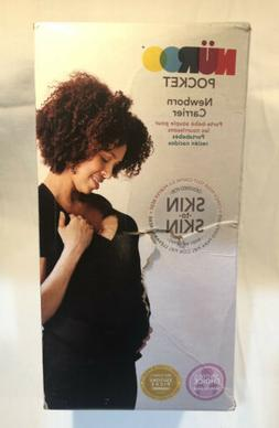 pocket baby carrier xxl black