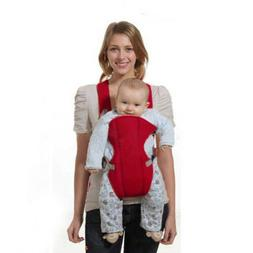 Red Front Facing brons Baby Carrier Backpack Kids Months 2-3
