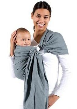 Beco Ring Sling Baby Carrier ~ Cloud Gray
