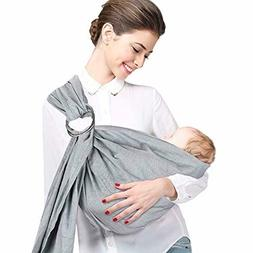 Accmor Ring Sling Baby Carrier, Soft Cotton Linen Breathable