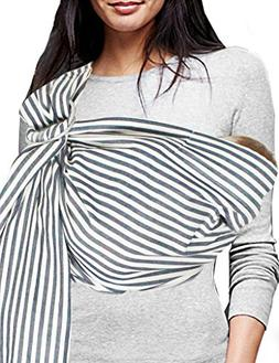 Vlokup Baby Sling Ring Sling Carrier Wrap | Extra Soft Light
