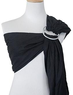 Vlokup Ring Sling Baby Carrier Wrap | Luxury Linen and Cotto