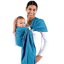 Beco Ring Sling Baby Carrier Ocean - Natural Wrap for Baby f