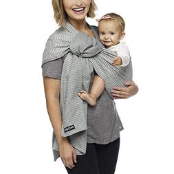 Moby Ring Sling Silver Streak - Great for On-The-Go, Fully-a