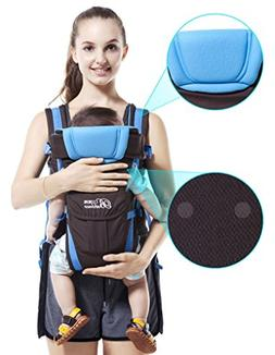 Safe durable 0-30 months baby carrier, ergonomic kids sling