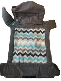 Infantino Sash Wrap and Tie Baby Carrier - Gray w/Chevron Pa