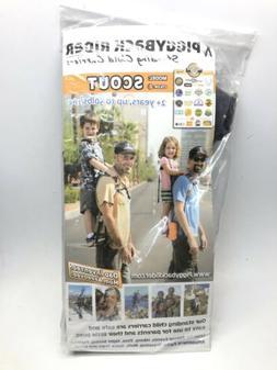 Piggyback Rider Scout Child Toddler Carrier Backpack for Han