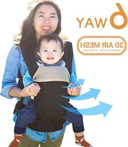 All Seasons 360 Ergonomic Baby Carrier - 6 Position, Easy Br