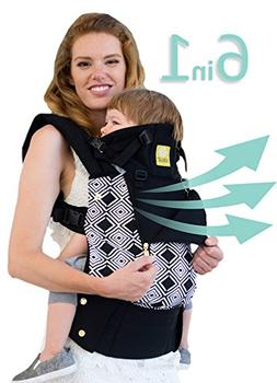SIX-Position, 360° Ergonomic Baby & Child Carrier by LILLEb