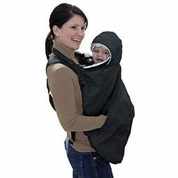Jolly Jumper Snuggle Cover For Soft Baby Carriers, Black Chi
