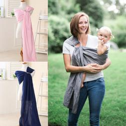 Soft Ring Sling Baby Carrier Pouch Wrap Newborn to Toddler N