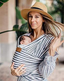 Tuck and Bundle Stripe Baby Wrap - Modern - Stylish - Lightw