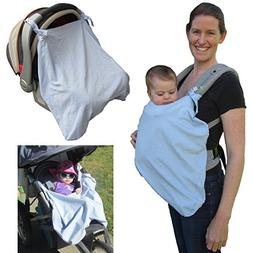 Little Goat Sun Cover UPF 50 for Car Seats, Baby Carriers &