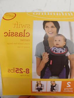 Infantino Swift Classic 2 Carry Positions Infant Carrier Bla