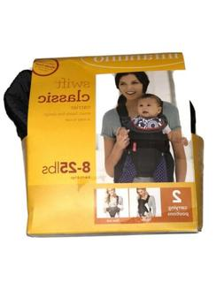 Infantino Swift Classic Comfort Infant Carrier Black Front B
