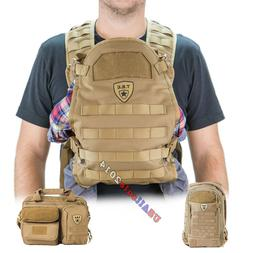tactical baby gear carrier diaper bag daypack