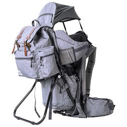 Clevr Urban Explorer Hiking Baby Backpack Child Carrier, Hea