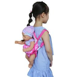 US Accessories Baby Carrier Girl Education Kids Doll Backpac
