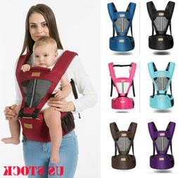 US Baby Carrier Infant Kid Baby Hipseat Sling Front Kangaroo