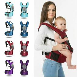 US Baby Carrier With Hip Seat Removable Multifunction Waist