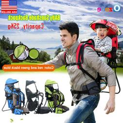 US Baby Toddler Backpack Crosscountry Carrier w/Stand Child