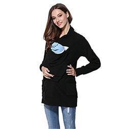 NeuFashion Baby Wearing Carrier Hoodie Jacket Sweater Sweats